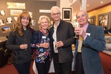 (LtoR) Katie Memory, Jackie Pilkington, Martin Memory, Peter Mitchell