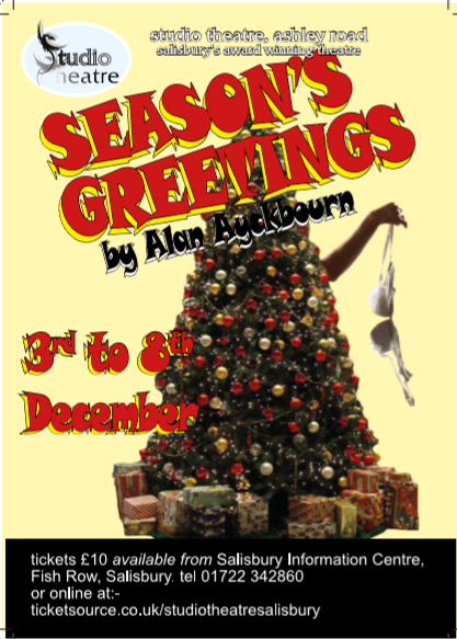 season s greetings by alan ayckbourn salisbury studio theatre